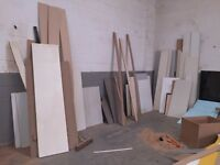 Free wood, laminate, worktops, chipboard