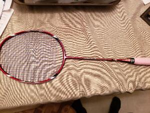 Badminton rackets for sale.