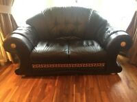 2 seater Versace style sofa