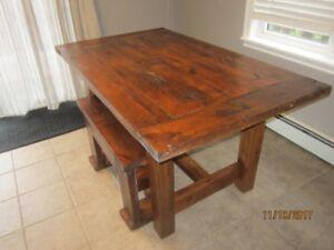 Cedar Farmhouse tables and benches