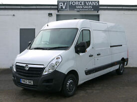 VAUXHALL MOVANO 2.3CDTI L3H2 LWB 3500 PANEL DELIVERY LOGISTICS COURIER WORK VAN