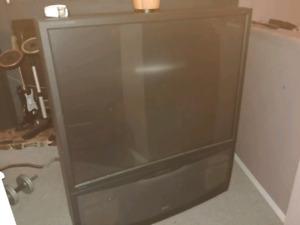Old school 50 inch tv