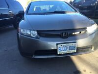 REDUCED PRICE !!! LOW KMs!!!  2006 Honda Civic DX