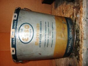 Esso Marvelube Grease Pail Regina Regina Area image 3