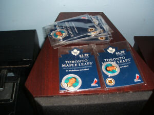 A Number of Toronto Maple Leaf Collectable Medallions from 2002