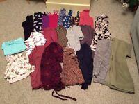 Large bundle of ladies clothes (tops, PJ's, jumpers) size 14-16 vgc