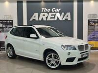 2012 BMW X3 3.0 30d M Sport Auto xDrive 5dr SUV Diesel Automatic