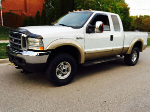 2002 FORD F-250 EXTENDED CAB LARIATR HARD TO FIND 7.3L DIESEL