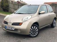 2004 nissan micra 1.2 16v se only 19000 miles from new fsh