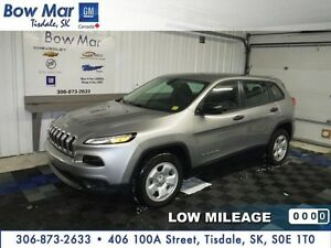 2016 Jeep Cherokee Sport-**ONLY 3,130 KMS**LIKE NEW*CERTIFIED**