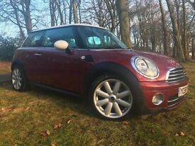 *TOP SPEC*2008(58)MINI COOPER 1.6 DIESEL(CHILLI PACK) WITH ONLY 54K FSH*