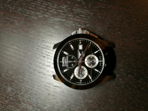 Longines conquest automatic chronograph watch