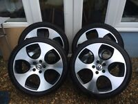 Load Rated VW Monza Alloys