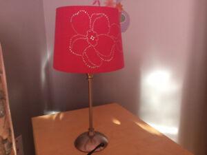 LAMPE DE CHEVET + LAMPE DE BUREAU