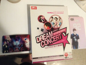 Kpop merch: BTS, EXO, Dream Concert DVD, BAP