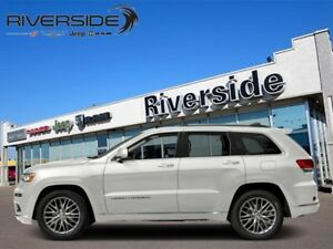 2018 Jeep Grand Cherokee Summit  - Leather Seats - $375.42 B/W
