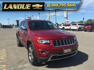 "2015 Jeep Grand Cherokee Limited  PANO SUNROOF, DUEL DVD, 20"" WH Windsor Region Ontario image 11"
