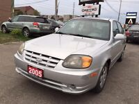 2005 Hyundai Accent *LOW MILEAGE 114K!!! *CLEAN CARPROOF