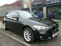 2012 BMW 118 2.0TD ( 143bhp ) Sports Hatch d SE 3DR 62REG Diesel Black