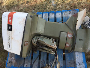 Johnsons 85 HP outboard motor