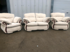 Traditional 2+1+1 sofas couches suite 🚚🚚