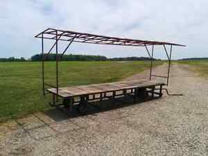 Fruit Stand Wagon with Heavy Deck (Work Bench)