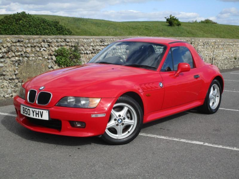 1998 Bmw Z3 2 8 Manual Petrol In Red With Hard Top In