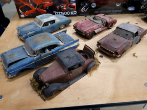 1:18 diecast Custom Weathered Barn finds