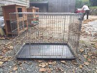 Crufts dog crate