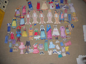 International Felt doll set