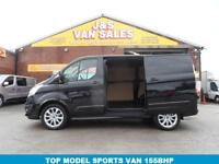 2014 64 FORD TRANSIT CUSTOM 2.2 290 SPORT LR P/V 1D 155 BHP 1 OWNER ONLY LOW MLS