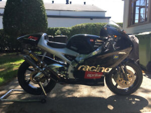 Aprilia rs250 track race bike two stroke