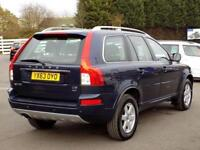 2013 63 VOLVO XC90 2.4 D5 ES AWD 5DR AUTO 200 BHP * FULL LEATHER * DIESEL