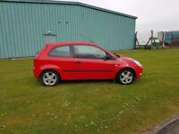 Ford Fiesta 1.4 ( a/c ) Ltd Edn 2004. Flame