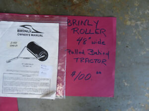 """Brinly 48 """" Towable Lawn Roller"""