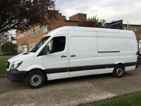 2014 64 MERCEDES-BENZ SPRINTER 2.1 313CDI LWB HIGH ROOF 130BHP NEW SHAPE. 1 OWNE