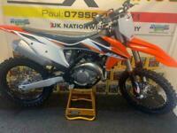 2021 KTM SXF 450...0.1 HOURS..£7795.STARTED ONLY...STUNNING BIKE...MOTO X CHANGE