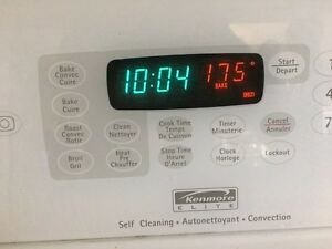 Kenmore Elite Self Cleaning Convection London Ontario image 8