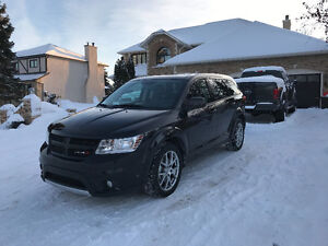 2012 Dodge Journey R/T SUV AWD 55kms, heated leather NO GST