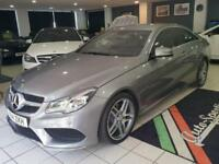 2014 Mercedes-Benz E Class 2.1 E220 CDI AMG Sport 7G-Tronic Plus 2dr Diesel silv