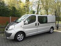 2013 13 REG Vauxhall Vivaro 2.0 CDTi 115ps LWB Sportive 2900 6 Seater - DIESEL