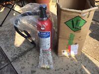 Nu Swift ABC dry powder fire extinguisher.