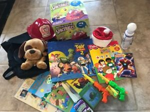 Toy package for toddler (for age 1-3 year old Boy or Girl) $20