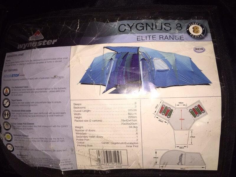 Elite Range Wynnster Cygnus 8 8 Man Tent in Newcastle  : 86 from www.gumtree.com size 800 x 600 jpeg 87kB