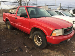 2000 GMC Sonoma Pickup Truck (Great v8 Project)