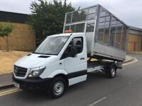 2014 Mercedes-Benz Sprinter 2.1 CDI 313 Cage Caged Tipper Manual Tipper