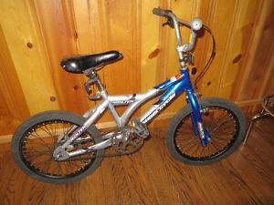 "Kids bike. 18"" wheels. backwards brake"