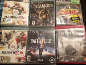 PS3 games for sale 60$ OBO