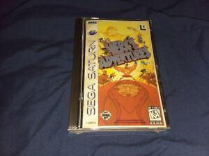 SEGA SATURN HERC'S ADVENTURES NEW SEALED
