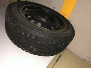 Studded Tires on rims 215/60 R16